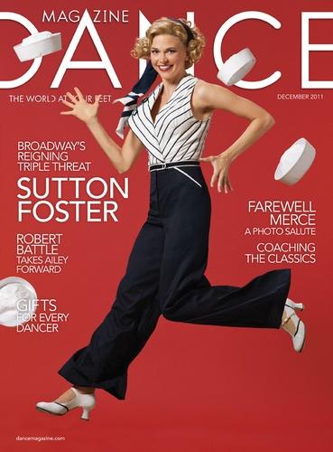 Sutton Foster is a goddess.