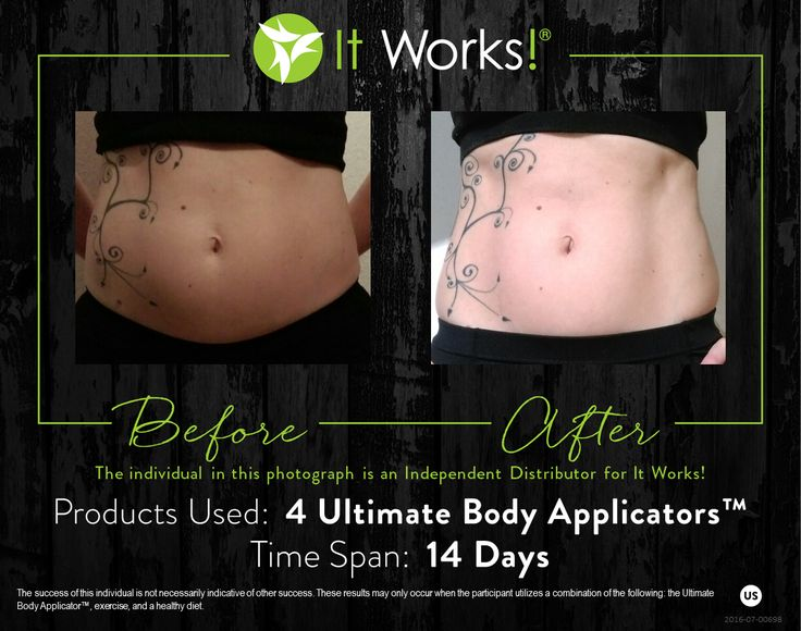 The Ultimate Body Applicator is a non-woven cloth wrap that has been infused with a powerful, botanically-based formula to deliver maximum tightening, toning, and firming results where applied to the skin.