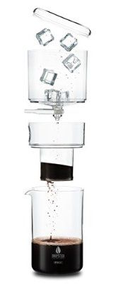 DRIPSTER Cold Drip Coffee Maker (4 Tassen / 500ml), Dripper für Cold Brew Kaffee