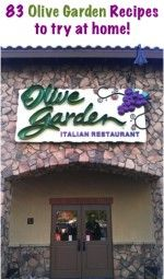87 Olive Garden Recipes to try at home!