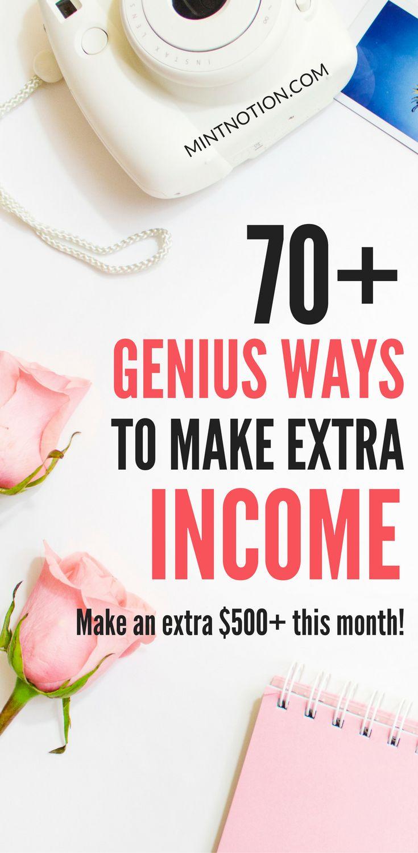 how to make extra money online legitimately check