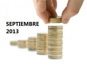 Mejores cuentas ahorro septiembre 2013: hasta el 2,40% TAE |
