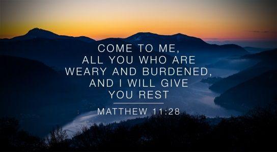 Matthew 11:28
