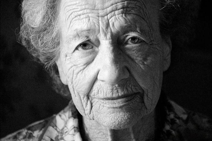 Bestemor, portrett.