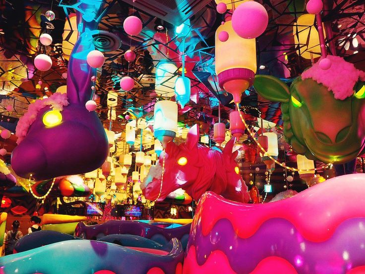 The wackiest theme restaurant in Tokyo - Review of Kawai Monster Cafe in Harajuku