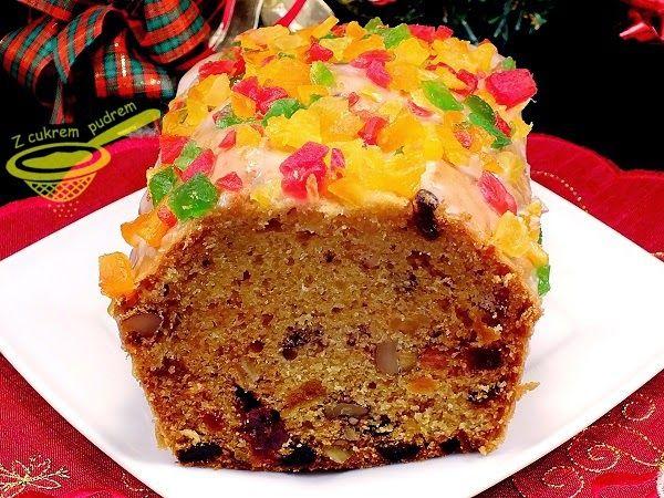 z cukrem pudrem: keks tradycyjny