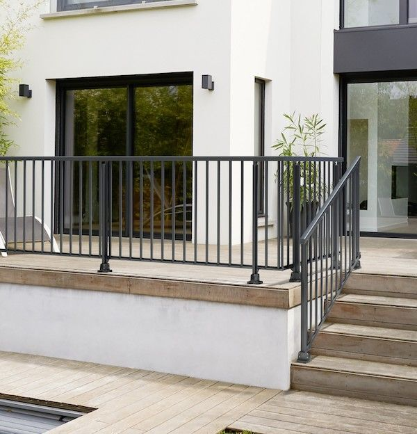 Balustrade Obeissante En Aluminium Balustrade Terrasse Balustre Terrasse Balustrade Exterieure