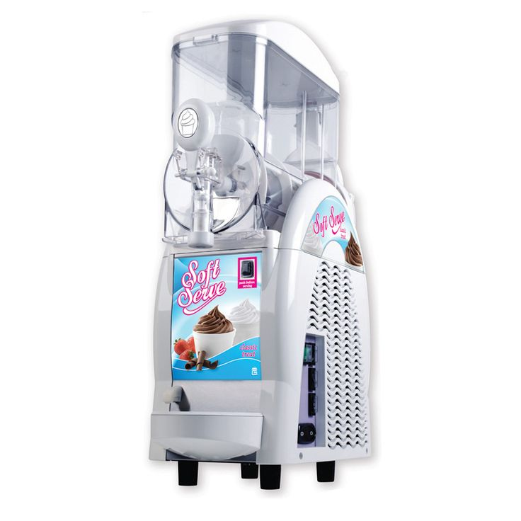 Soft Serve Ice Cream Machine.   We've just added this beauty to our collection.  It'll be a great addition to your children's birthday party, graduation or just because.  They are limited to smaller home parties and they do need to be plugged directly into an inside outlet, however we would still recommend that it get eaten outside to minimize any mess.