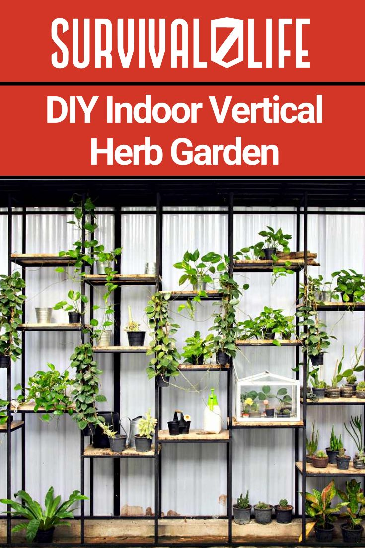 How to Make Your Own Vertical Herb Garden