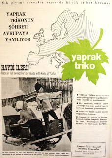 Yaprak triko 1964.
