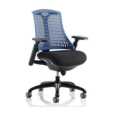 Flex Office Chair with Coloured Back