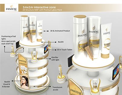 P&G Pantene Design for innovation concepts