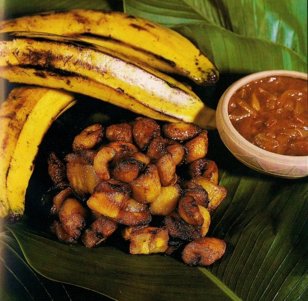 OMG I miss alloco soooooooo much!   Alloco is an Ivorian snack made from fried plantain. It is often served with chili pepper and onions. It is popular predominantly in the Ivory Coast and the surrounding African nations. Alloco is widely considered as fast-food and is sold on the streets of Côte d'Ivoire