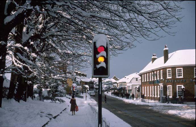 Rainham in the snow