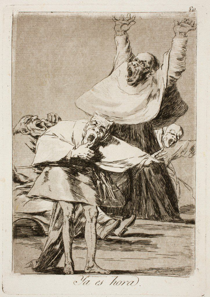 Los caprichos (1798) by Francisco Goya.   Francisco goya ...