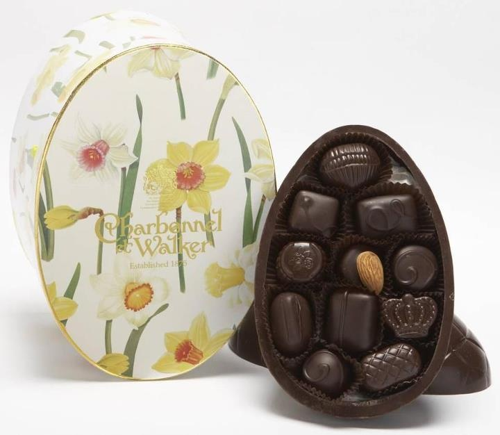 151 best easter chocolates images on pinterest easter recipes the new charbonnel et walker luxury dark chocolate easter egg in a beautiful daffodil gift box negle Choice Image