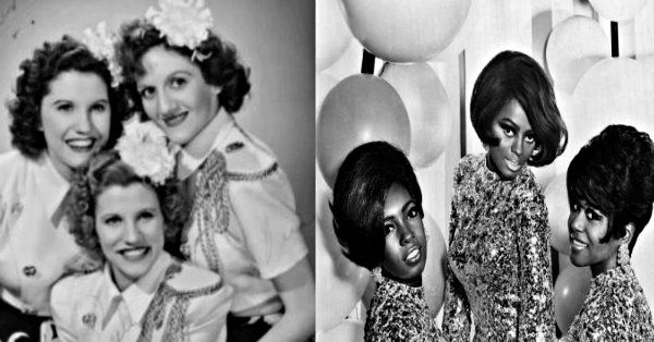 The Andrews Sisters And The Supremes Sing Each Other's Songs In This Fantastic Performance!