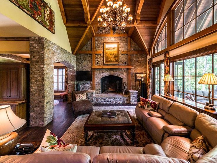 Barrel Vaulted Ceilings In Living Rooms