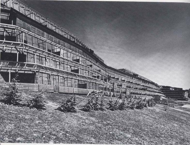 complesso residenziale conca bianca - 1973 - 1980, Aimaro Isola, Guido Drocco, Roberto Gabetti