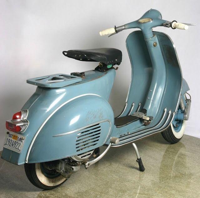 Vespa models 1946-1965 : Photo