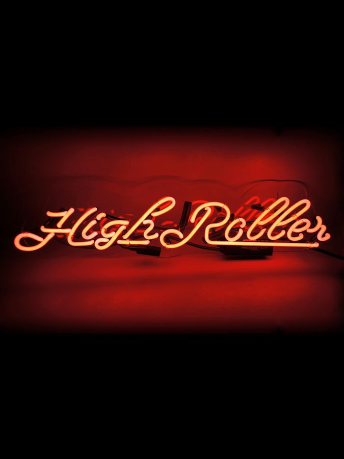 Oliver Gal Highroller Neon Sign