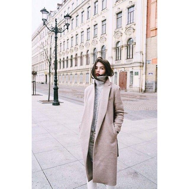 """""""Szeles februári outfit pasztellszínekkel :) // pastel outfit for windy days in February ;)"""