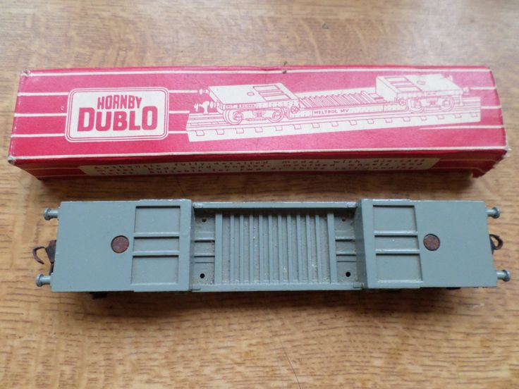 Hornby Dublo 00 Gauge Diecast 40 Ton Weltrol Bogie Well Wagon by RoseCollectable on Etsy