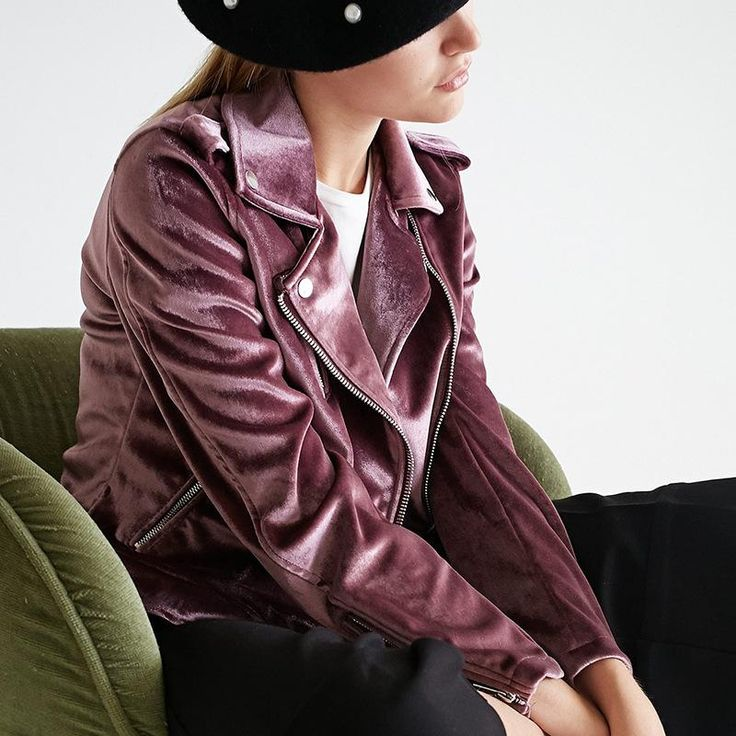 KoHuiJoo 2017 Autumn Fashion Pockets Velvet Coats Women Long Sleeve Female Zippers Bomber Jackets Streetwear Velvet Jacket Lady  #model #dress #love #iwant #sweet #glam #stylish #shopping #pretty #beautiful