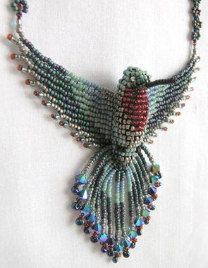 beading pattern for hummingbird | HUMMING BIRD BEADING PATTERNS | Free Beading Projects
