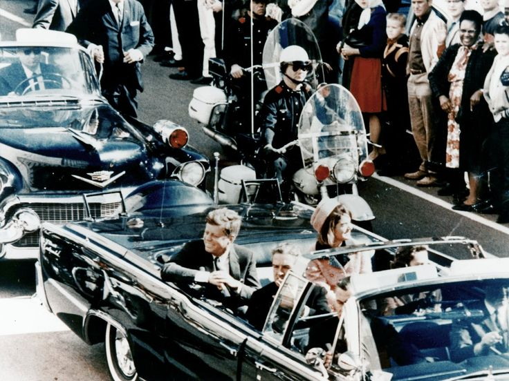 On November 22, 1963, JFK and Jackie were traveling in a motorcade in downtown Dallas when the president was shot in the neck and head. He was pronounced dead at a nearby hospital.