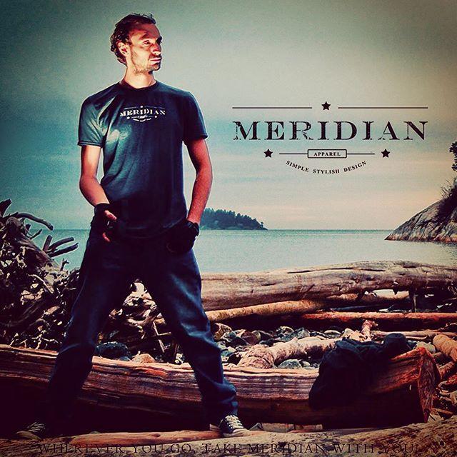 For the adventure ahead... #shopmeridianapparel #ocean #mountains #vancouver #me #happy #travel #adventure #tree #tshirt