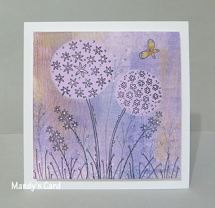 Love Kay Carley's allium stamps.