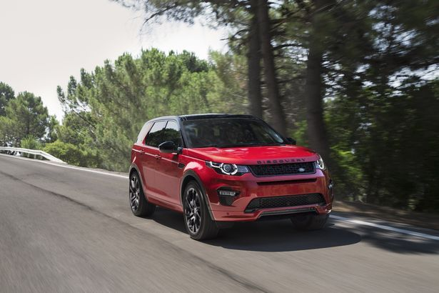 The new Land Rover Discovery Sport HSE Dynamic Lux.