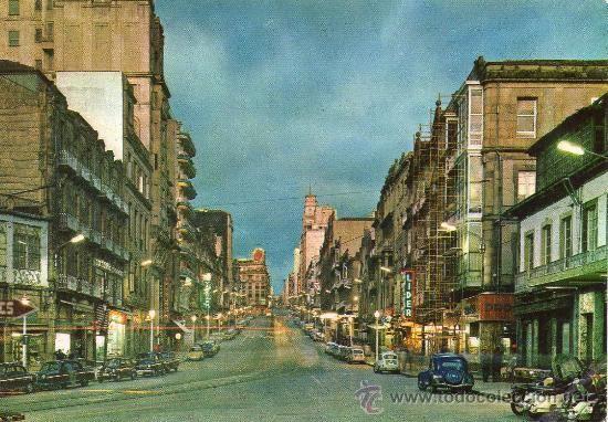 -VIGO- AVDA. JOSÉ ANTONIO  POSTAL  AÑOS 60' (Postales - España - Galicia Moderna (desde 1940) - Pontevedra)