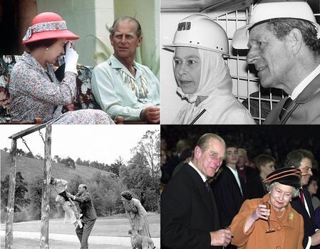 Queen Elizabeth and Prince Philip wedding anniversary - children defined couple | Royal | News | Express.co.uk