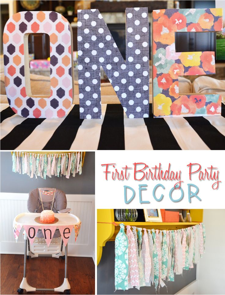 Time flies little girl first birthday party ideas and for 1st birthday decoration ideas