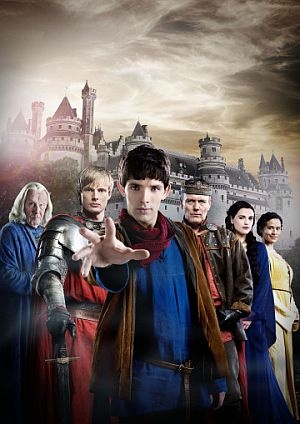 Merlin. Just started watching this with B. Liking it so far!