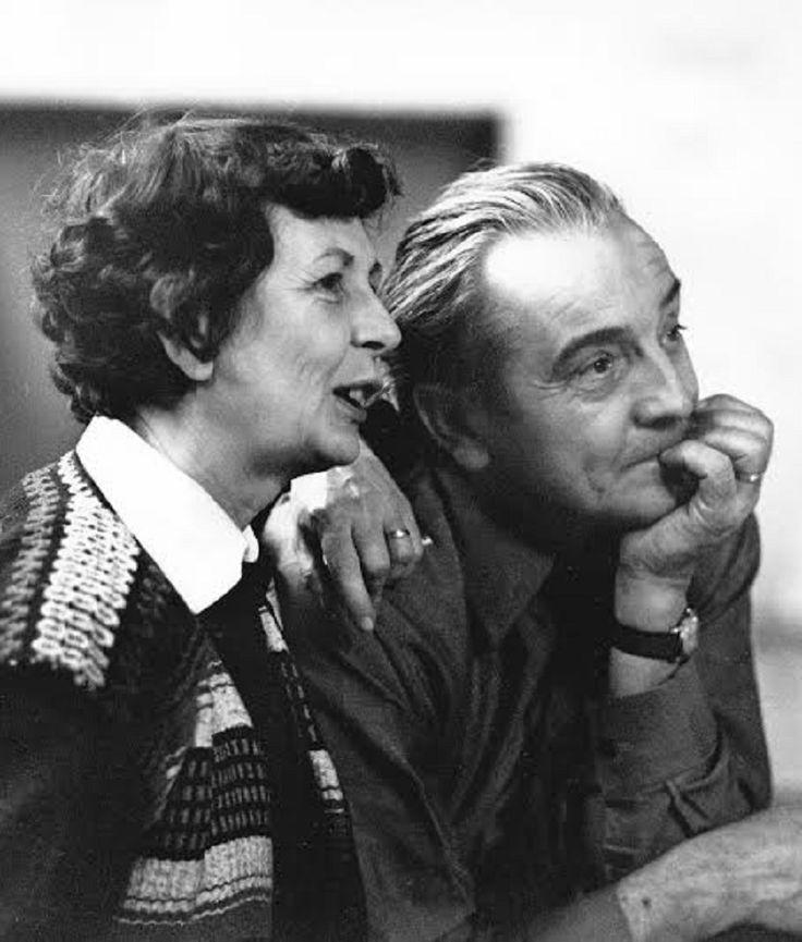 Miluše Roubíčková (*1922) a René Roubíček (*1922)
