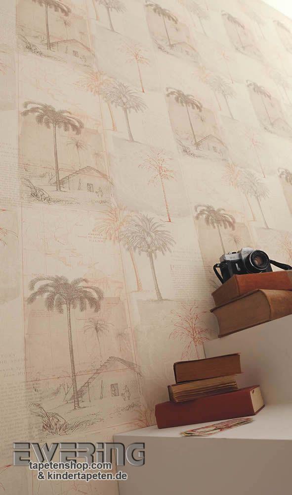 Tapete Casadeco Midnight : more tapetenshop com passport casadeco tapeten die fernweh verleihen