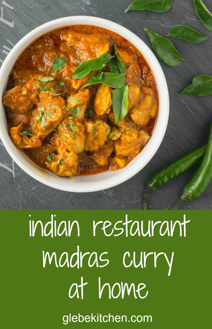 Indian restaurant madras curry is a classic on every Indian menu.