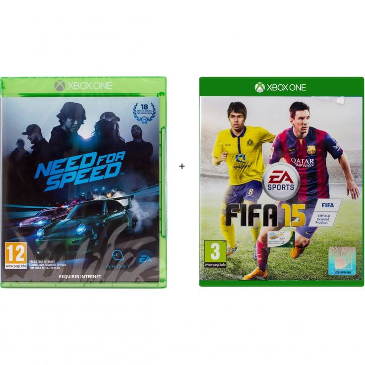 Bundle Pack: Need for Speed;FiFa 15, Xbox One, Assorted Genre