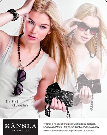 Necklace and iPhone Clutch! or wear as a Bracelet! or hold you Sunglasses!