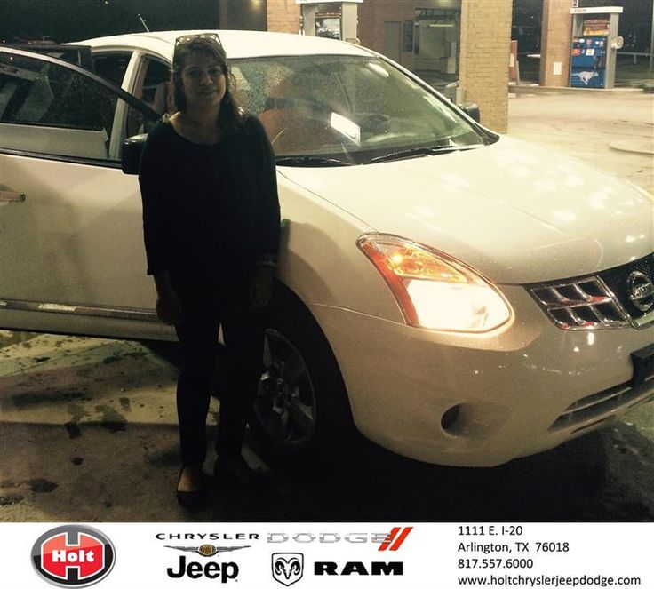 Congratulations to Rosa Velasquez on your #Nissan #Rogue purchase from Joni Aviles at Holt Chrysler Jeep Dodge! #NewCar