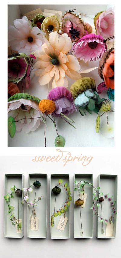 paper florals- lyndie dourthe