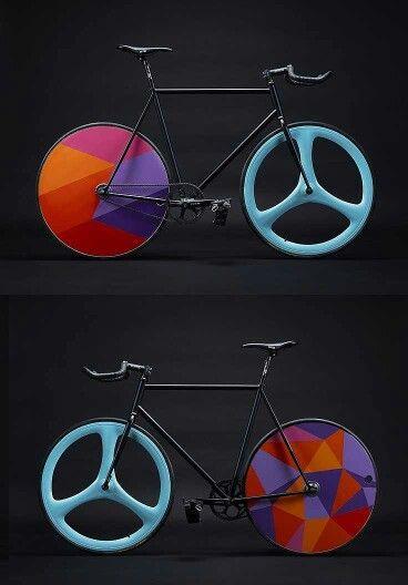 Fixie, aerospoke, carbon wheel, bullhorn