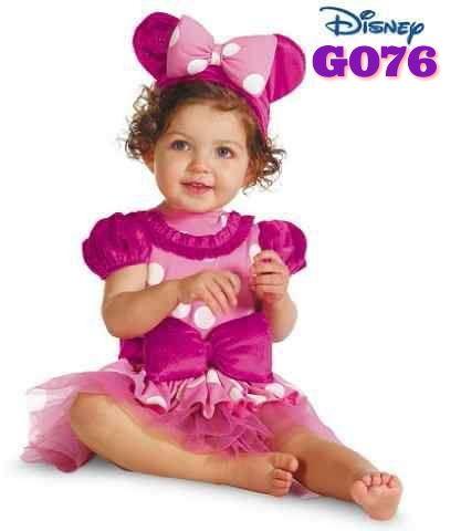 Minnie Dress Costume + headband (G076) || size 80-120 || IDR 110.000