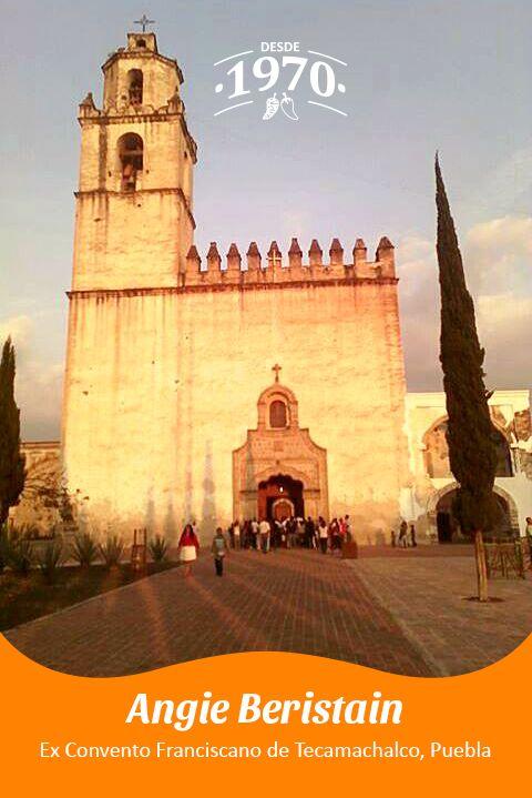 Ex Convento Franciscano de Tecamachalco, Puebla por Angie Beristain.