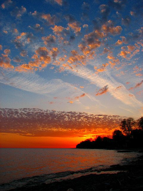 Lake Erie sunrise