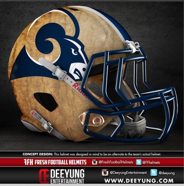 Rams Helmet 2