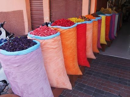 market of morocco